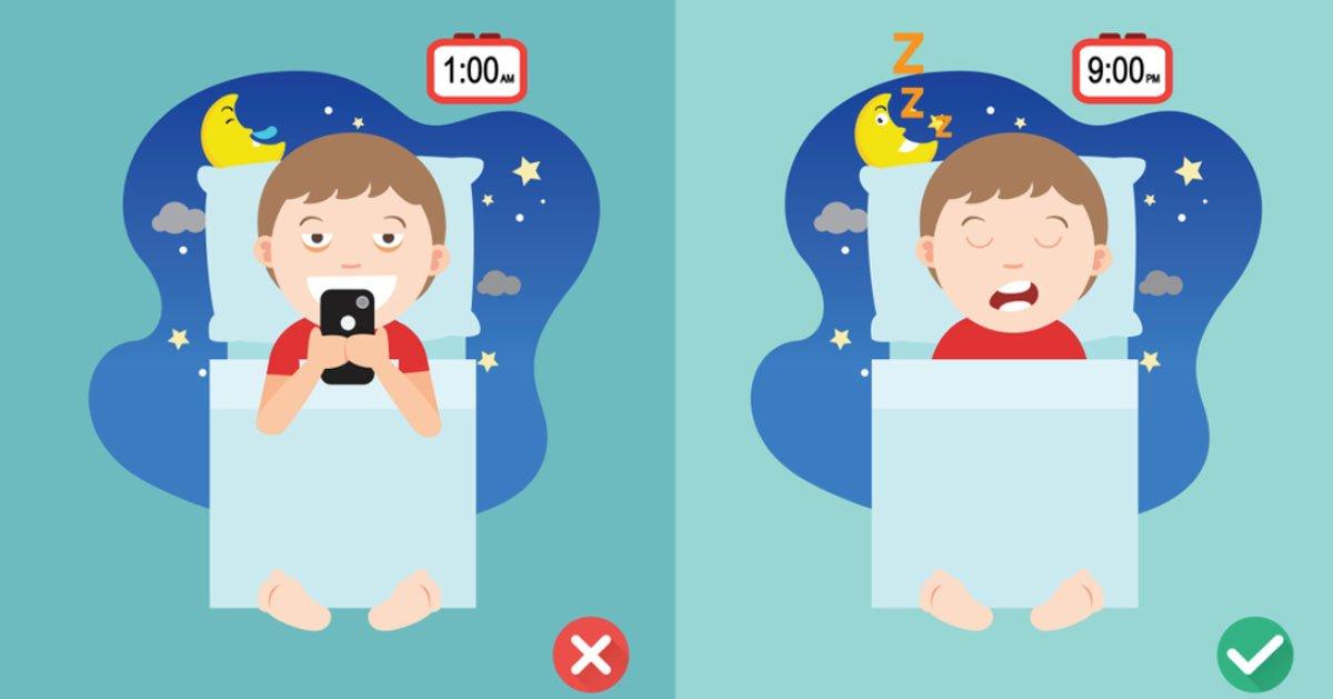 Tv, Smartphone e Videogame: fanno male ai bambini prima di dormire?