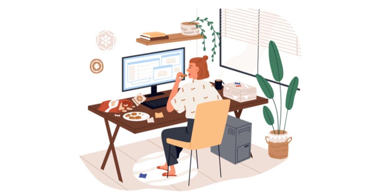 Fame nervosa da stress lavorativo: quando si presenta e come riconoscerla